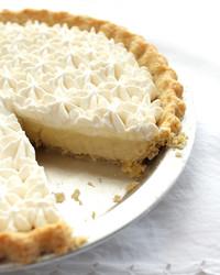 rum vanilla cream pie