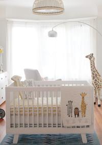 A Beautiful Zoo-Themed Nursery in Neutral Tones