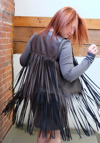 Festival Chic: How to Sew a Vest with Fringe