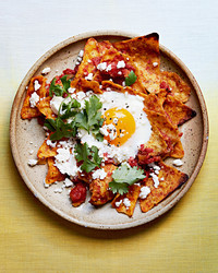 chilaquiles egg bake