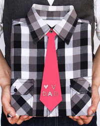 How to Turn an Old Dress Shirt Into the Perfect Father's Day Gift Wrap