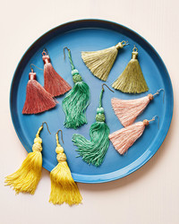Make Colorful Tassel Earrings in All Shapes, Sizes, and Styles