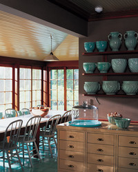 Martha's Lily Pond Lane Kitchen