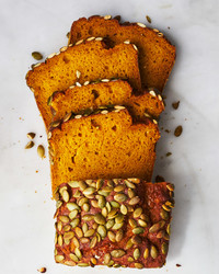 Zucchini Parmesan Bread With Poppy Seeds
