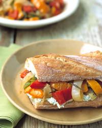 peperonata sandwhich