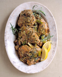 braised chicken tarragon