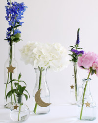A Floral Centerpiece for the Eid Dinner Table