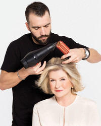 Martha's Morning Hair Routine: How to Blow Dry Like a Pro