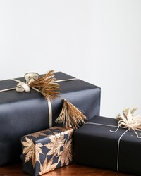 Beautiful Gift Wrap Using Household Items