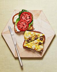 frittata hash sandwich