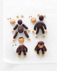 Marzipan Menagerie Cake Toppers How-To