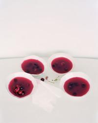 sour cherry rose jellies