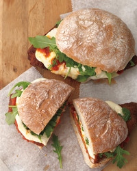Italian pork sandwiches