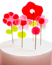 Fun with Candy: How to Make Flower-Shaped Lollipops