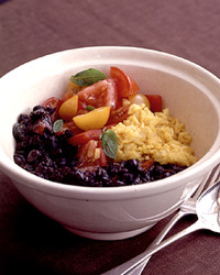 black bean and tomato chili
