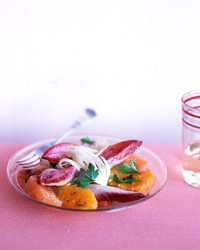 citrus salad with endive and fennel