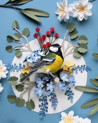 Spotted: These Paper Birds are Remarkably Lifelike