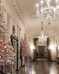 Here's an Inside Look at the White House Decorated for Christmas