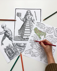 Libraries and Museums are Now Offering Coloring Pages for Free