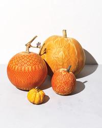 Make a Chic, No-Carve Lacy Pumpkin
