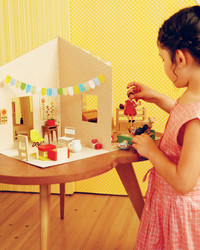 How to Make a Chic Paper Dollhouse