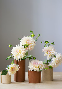 Here's a Rustic Leather Vase You Can Make in 15 Minutes