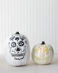 Pumpkin Decorating: Day of the Dead