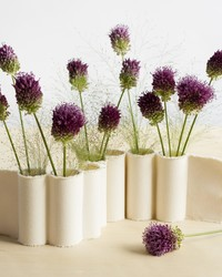 Craft This Cool and Unexpected Centerpiece Using Mini Vases