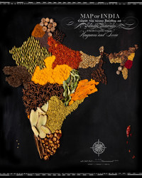 These Stunning Maps Are Made Entirely Out of Food