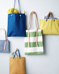 DIY Buckle Tote Bag
