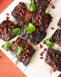kebabs pomegranate steak