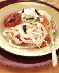 blood orange and fennel