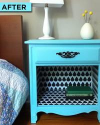 Flea Market Flip! How to Make Over a Bedside Table