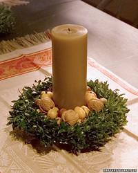 Boxwood Wreath Centerpiece