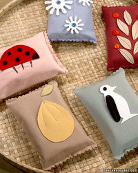 Ultrasuede Tissue Pouch