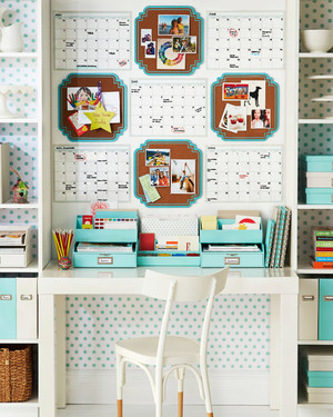Create an Organized Home Workspace in 5 Steps