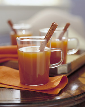 Hot Drinks for New Year's
