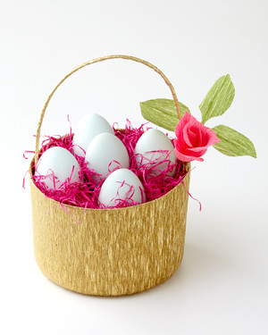 A Basket Full of Easter Eggs