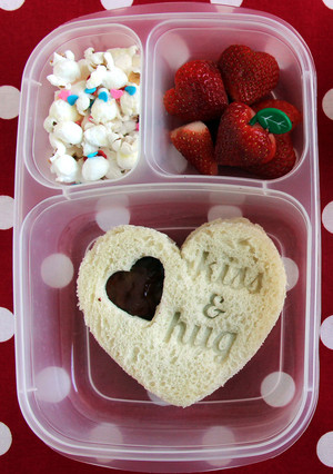 Show Your Love! Make a Valentine's Bento Lunch Box