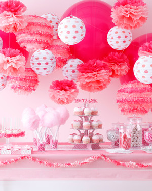 MarthaCelebrations Cotton Candy Party