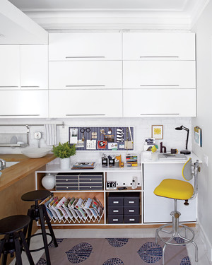Before and After: A Transformed Desk Area