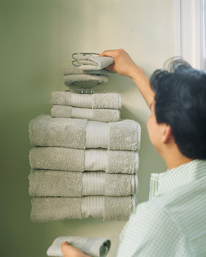 Save Space in Bathrooms and Laundry Rooms
