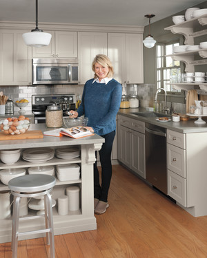 Inside Martha's Remodeled Kitchen