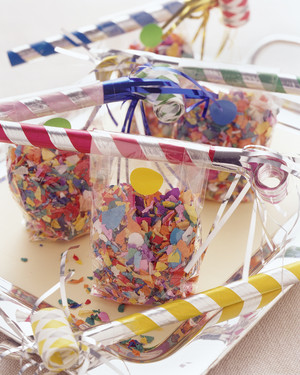 New Year's Eve Noisemakers and Favors