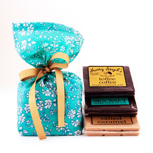 Chocolate Assortment and Liberty of London Gift Bag