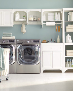 A Streamlined Laundry Room