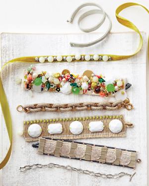 Handmade Fabric Jewelry