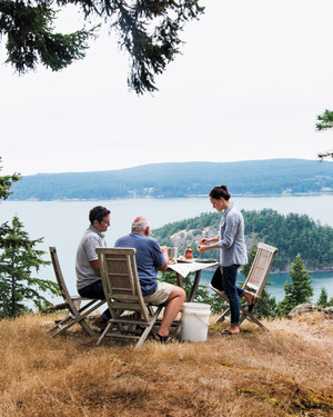 Dungeness Crab, Blackberries, and Cherry Plums: The Pacific Northwest Bounty of Decatur Island