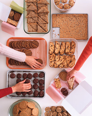 Storing and Packaging Cookies
