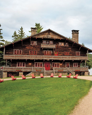 Home Tour: Great Camp Sagamore